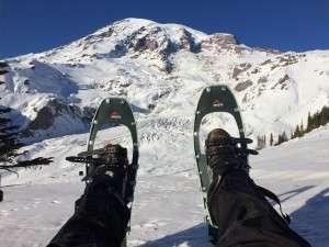 Betsy at Mt Rainier 2015